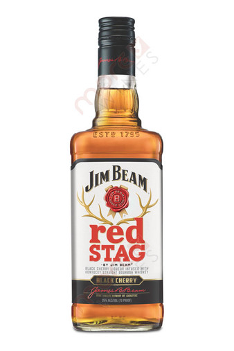 Jim Beam Red Stag Black Cherry Bourbon Whiskey 750ml
