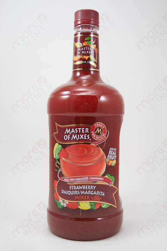 Master Of Mixes Strawberry Daiquiri Margarita Mix 1 75l Morewines