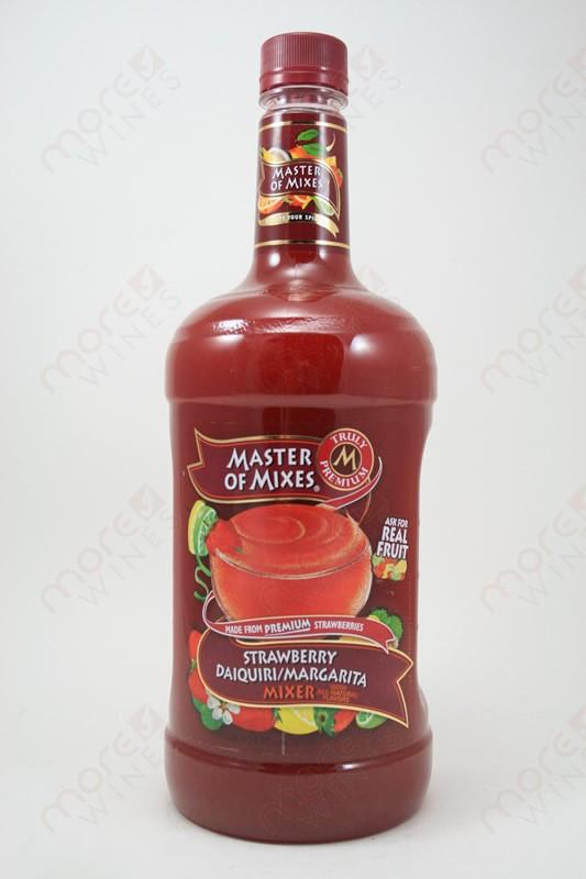 Master Of Mixes Strawberry Daiquiri Margarita Mix 1 75l Morewines