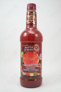 Master of Mixes Strawberry Daiquiri/Margarita Mix 1L