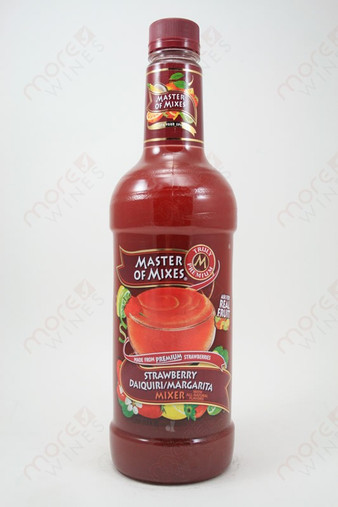 Master of Mixes Strawberry Daiquiri/Margarita Mix 1L