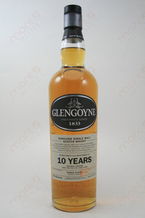 Glengoyne 10 Years Highland Single Malt Scotch Whiskey 750ml