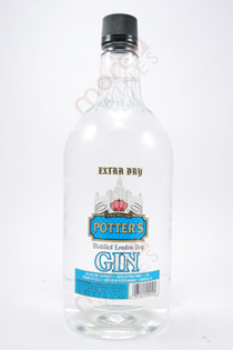 Potter's Gin 1.75L