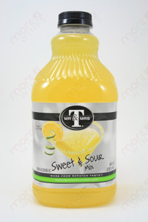 Mr & Mrs T Sweet and Sour Mix 1.89L