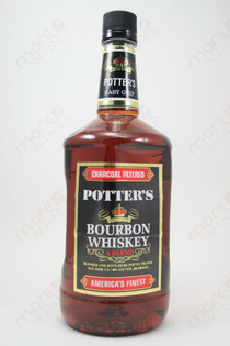 Potter's Bourbon Whiskey 1.75L