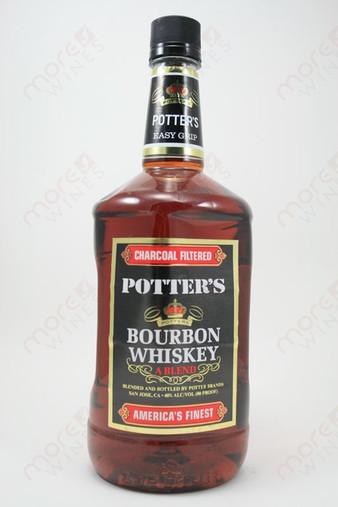Potter's Bourbon Whiskey 1.75L