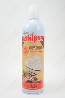 Whipsy Hazey Hazelnut Whipped Cream 375ml