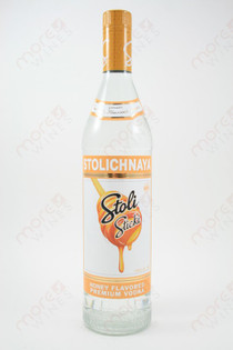 Stolichnaya Sticki Honey Vodka 750ml