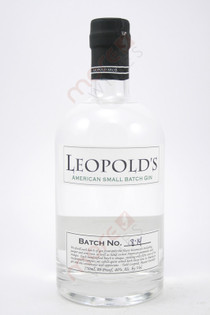 Leopold's American Small Batch Gin 750ml