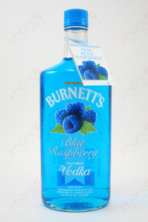 Burnett's Blue Raspberry Vodka 750ml