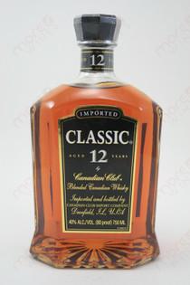 Canadian Club Classic 12 Year Old 750ml