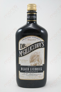 Dr. McGillicuddy's Black Licorice Schnapps 750ml