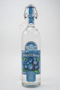 360 Huckleberry Vodka 750ml