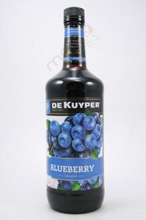 Dekuyper Blueberry Liqueur 1L