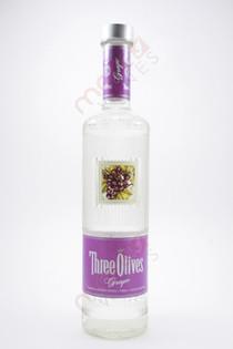 Three Olives Grape Vodka 750ml