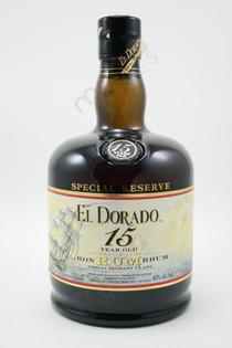 El Dorado 15 Year Special Reserve Rum 750ml