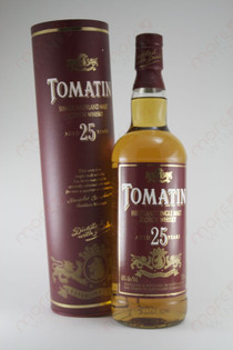 Tomatin 25 Years Single Malt 750ml
