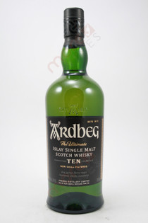 Ardbeg 10 Years Single Malt Whiskey 750ml