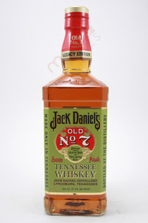 Jack Daniel's Legacy Edition Old No.7 Brand Sour Mash Whiskey 750ml