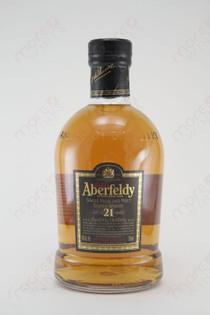 Aberfeldy 21 Single Highland Malt Scotch Whisky 750ml