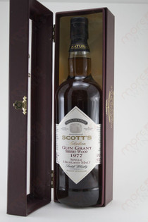 Scott's Selection Glen Grant Sherry Wood 1977 750ml