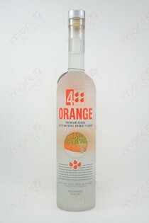 4 Orange Vodka 750ml