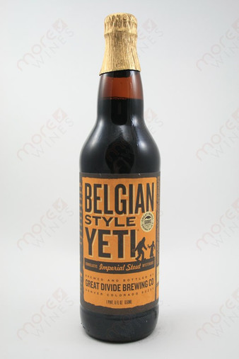 Great Divide Brewing Belgian Style Yeti Imperial Stout