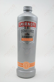 Smirnoff Singature Screwdriver 750ml