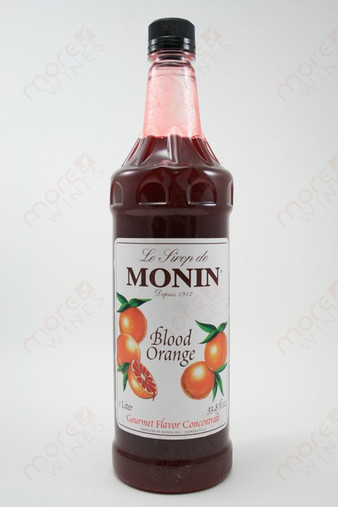 Monin Blood Orange Concentrate 750ml