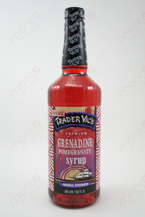Trader Vic's Grenadine Pomegranate Syrup 750ml