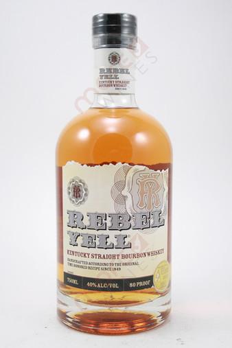 Rebel Yell Straight Bourbon Whiskey 750ml