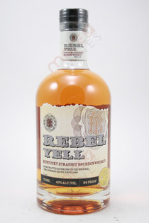 Rebel Yell Straight Bourbon Whiskey 750ml
