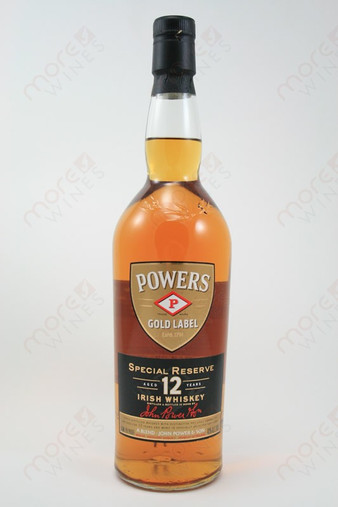 Powers Special Reserve 12 Years Old Whiskey 750ml