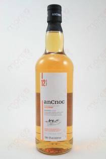 Ancnoc 12 Year Old Single Malt Scotch Wiskey 750ml