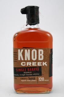 Knob Creek 9 Year Single Barrel Reserve Straight Whiskey 750ml