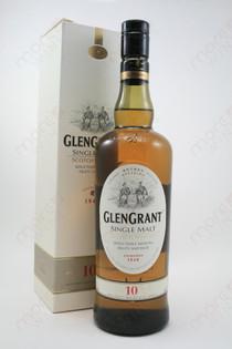 Glen Grant 10 Year Single Malt Whiskey 750ml