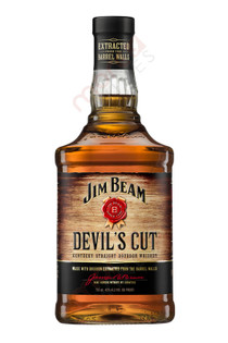 Jim Beam Devil's Cut 90 Proof Bourbon Whiskey 750ml