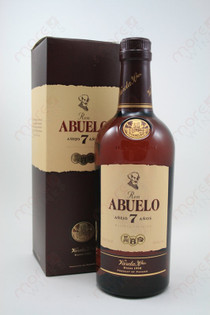 Ron Abuelo Anejo 7 Anos Reserva Superior Rum 750ml