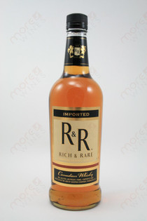 Rich & Rare Canadian Whiskey 750ml