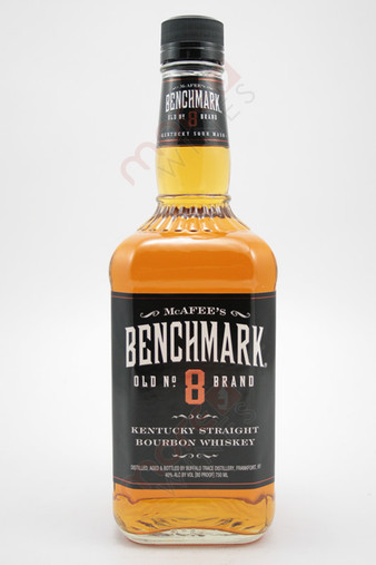 Mcafee's Benchmark Old #8 Brand Whiskey 750ml