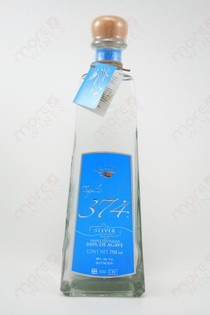 Tequila 374 Silver 750ml