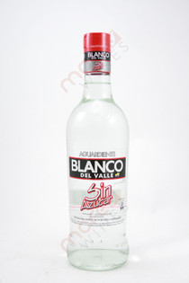Blanco Del Valle Aguardiente 750ml