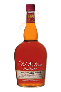 Old Weller Antique Original 107 Brand Kentucky Straight Wheated Bourbon Whiskey