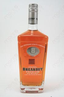 Original Breakout Premium 8 Year Old Rye Whiskey 750ml