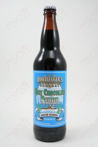 Bootlegger's Brewery Mint Chocolate Porter 22fl oz
