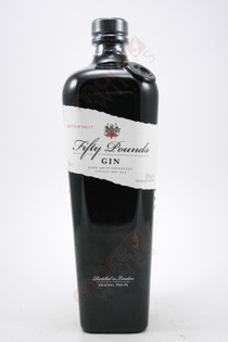 Fifty Pounds Gin 750ml
