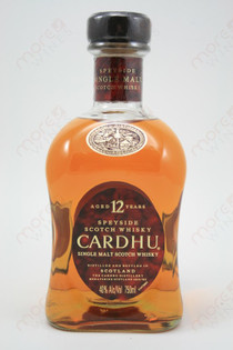 Cardhu 12 Year Old Scotch Whiskey 750ml