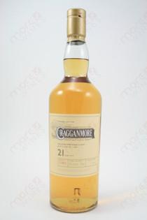 Cragganmore 21 Year Old Whiskey 750ml