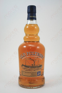 Old Pulteney 21 Year Old Whiskey 750ml