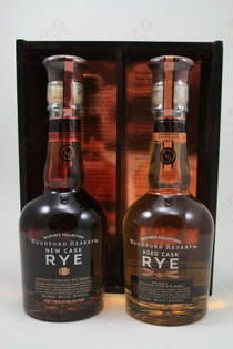 Woodford Reserve Master Collection Rye Whiskey Set 375ml